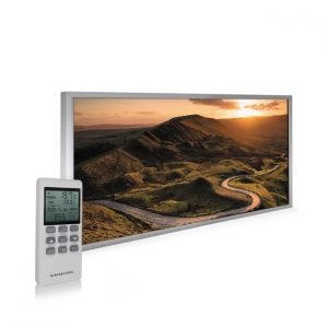 595x1195 Rural Sunset Image NXT Gen Infrared Heating Panel 700W - Electric Wall Panel Heater