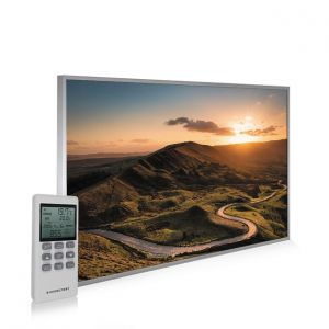795x1195 Rural Sunset Picture NXT Gen Infrared Heating Panel 900W - Electric Wall Panel Heater