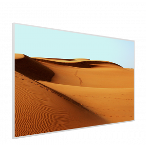 995x1195 Sand Dunes Picture NXT Gen Infrared Heating Panel 1200w - Electric Wall Panel Heater