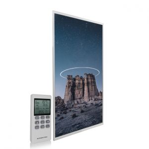595x995 Starry Halo Picture NXT Gen Infrared Heating Panel 580W - Electric Wall Panel Heater