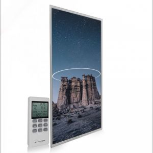595x1195 Starry Halo Image NXT Gen Infrared Heating Panel 700W - Electric Wall Panel Heater
