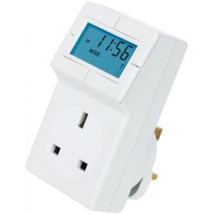 Electronic Plug-in Thermostat with 24 Hour Control
