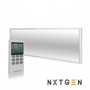 350W UltraSlim NXT Gen Infrared Heating Panel White Frame - Grade A