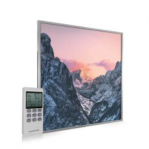 595x595 Valley at Dusk Image NXT Gen Infrared Heating Panel 350W - Electric Wall Panel Heater