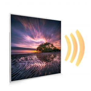 595x595 Washing Landscape Picture NXT Gen Infrared Heating Panel 350w - Electric Wall Panel Heater