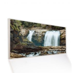 595x1195 Waterfalls Image Classic Infrared Heating Panel 700W