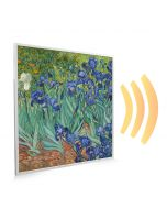 595x595 Irises Picture NXT Gen Infrared Heating Panel 350W - Electric Wall Panel Heater
