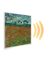 595x595 Poppy Field Image NXT Gen Infrared Heating Panel 350W - Electric Wall Panel Heater