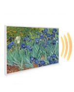 795x1195 Irises Picture NXT Gen Infrared Heating Panel 900W - Electric Wall Panel Heater