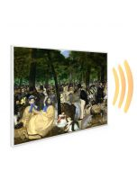 995x1195 La Musique au Tuileries Picture NXT Gen Infrared Heating Panel 1200W - Electric Wall Panel Heater