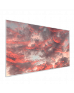 595x1195 Red Sky Picture NXT Gen Infrared Heating Panel 700W - Electric Wall Panel Heater