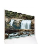 995x1195 Waterfalls Picture NXT Gen Infrared Heating Panel 1200W - Electric Wall Panel Heater