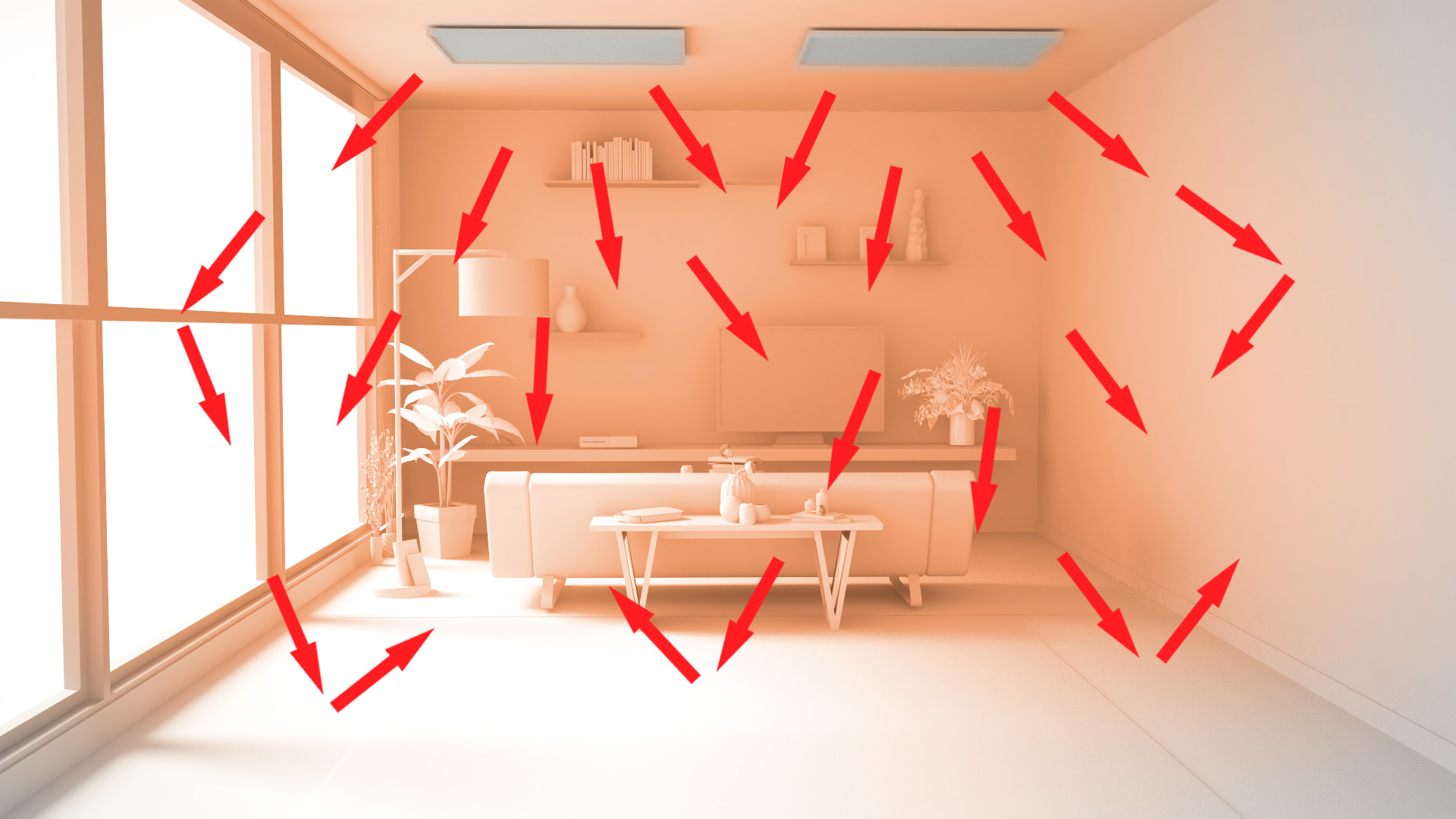 Ceiling IR Heating Panel - How Does It Work?
