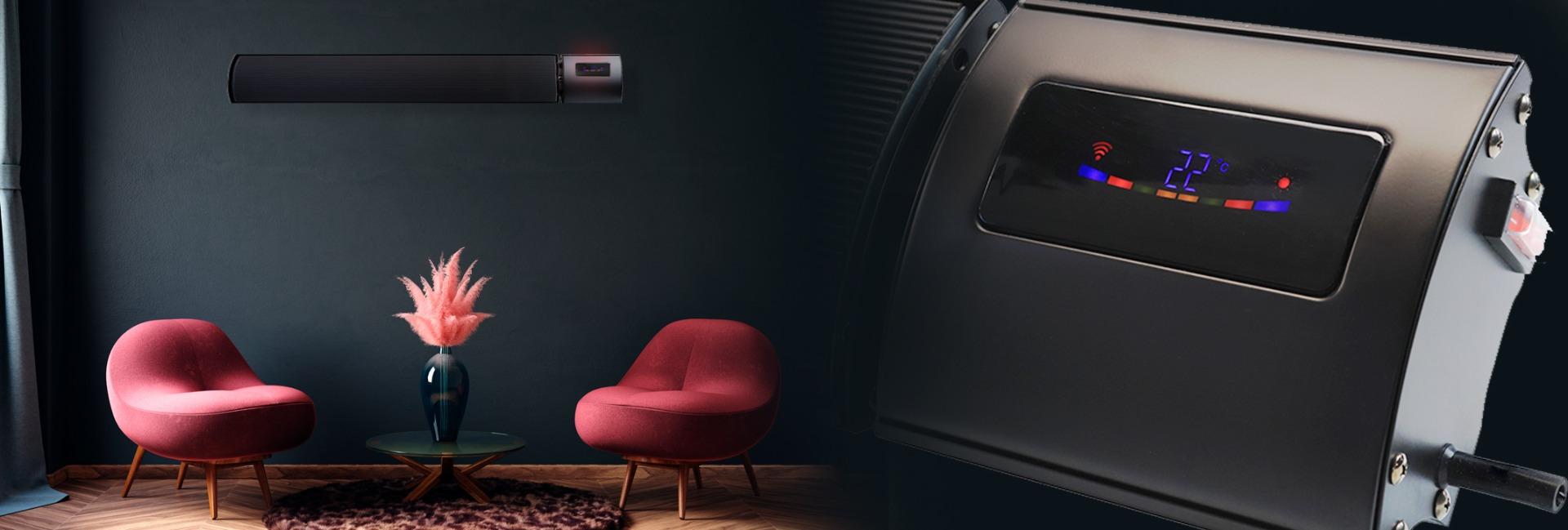 Surya Infrared Bar Heater Remote Control