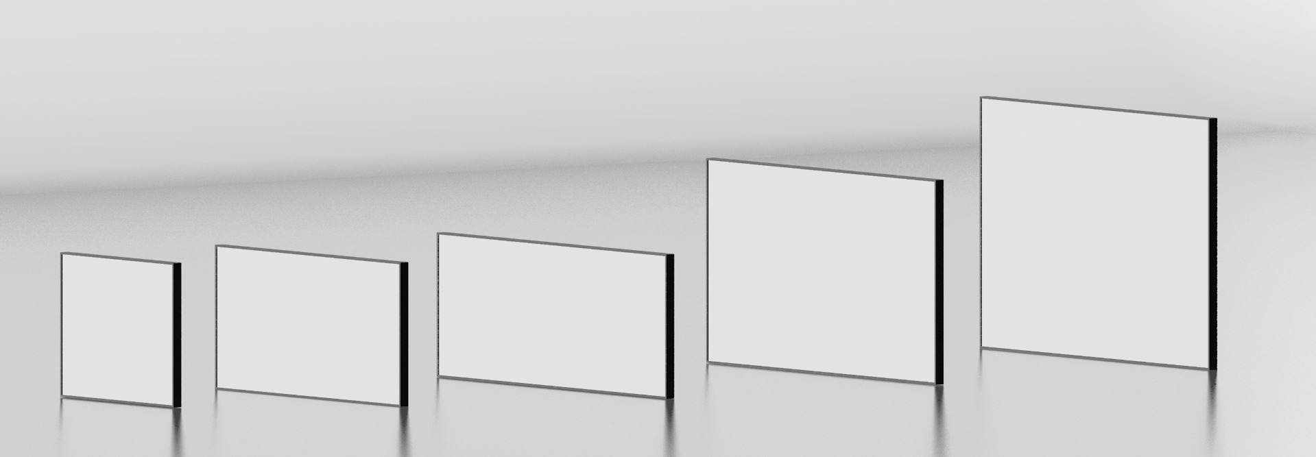 Infrared Heating Panel Sizes