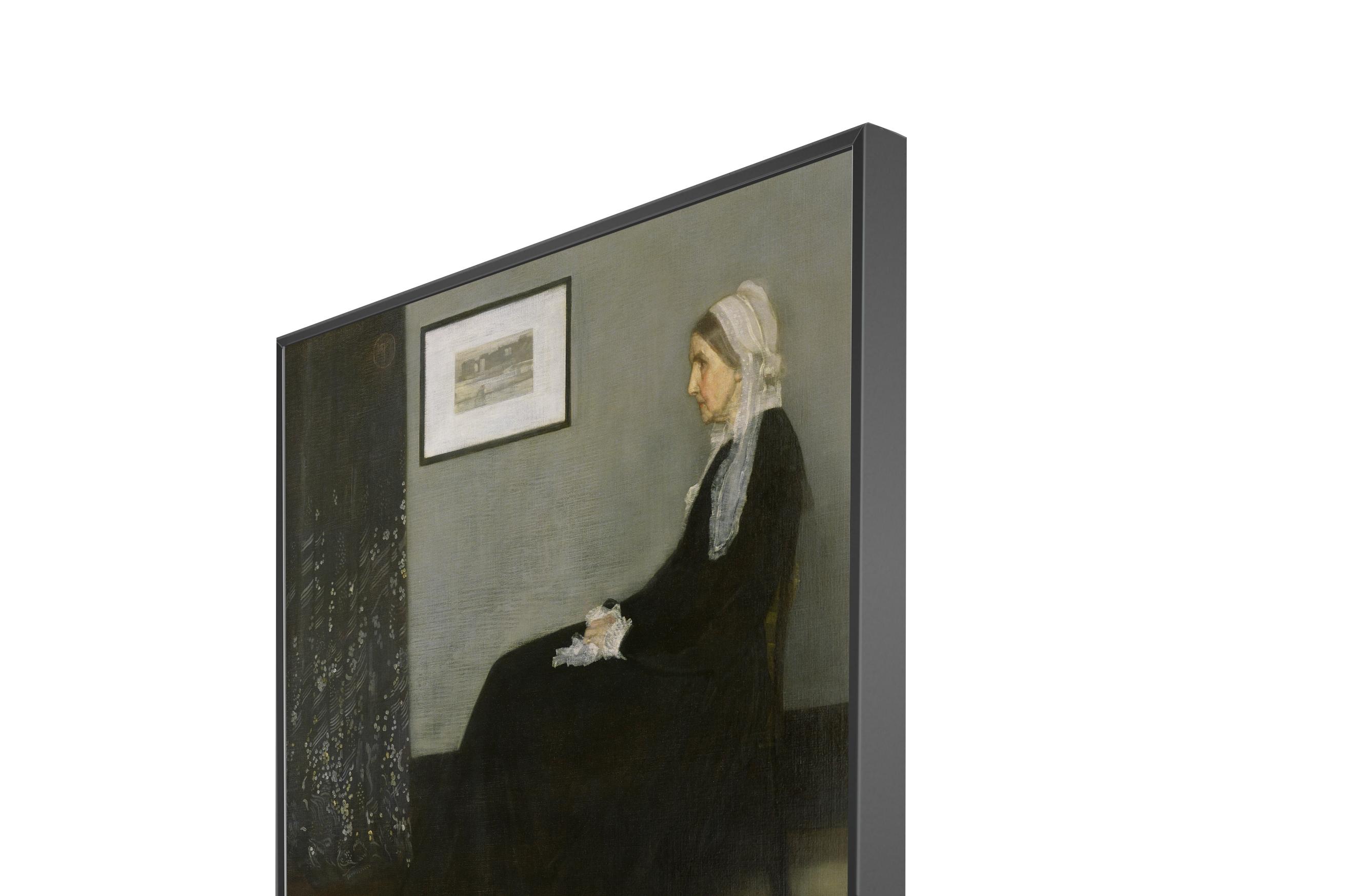 Whistler's Mother Sleek Finish