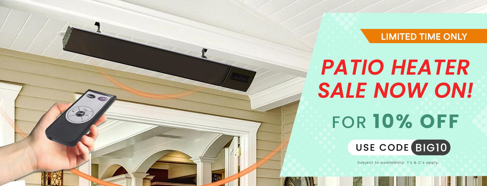 Surya Infrared Heating 10% Off Sale