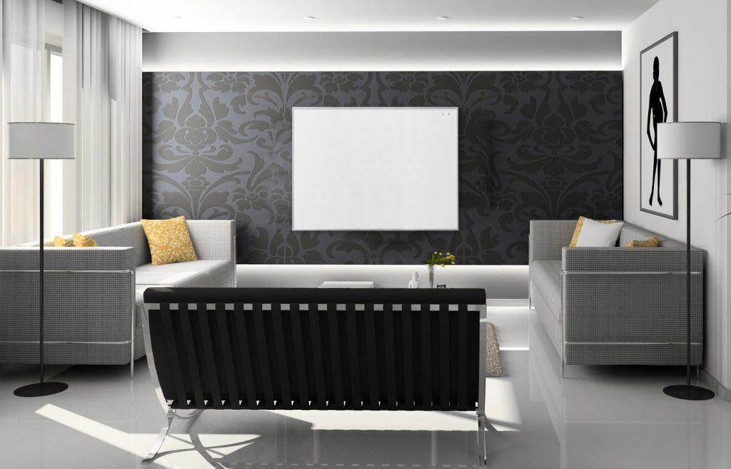 panel on wall